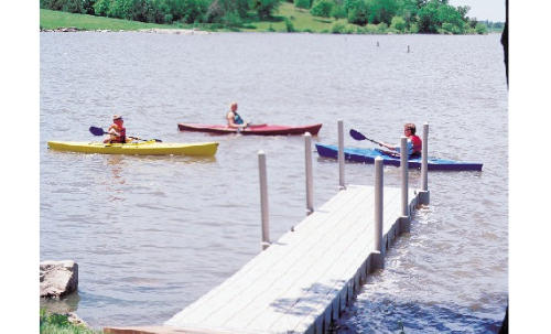 Products: Dock Packages from Watersmeet Trout Hatchery