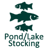 Pond Fish Stocking and Fish Stocking for Lake at Watersmeet Trout Hatchery